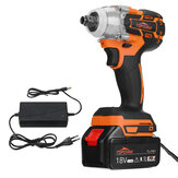 Topshak TS-PW1 Brushless Impact chave LED 15000mAh Recarregável Woodworking Maintenance Tool W / Bateria