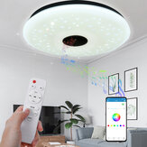 40CM 36W AS102 LED RGB Music Ceiling Lamp APP+Remote Control Work with Google Home Alexa 220V/85-265V