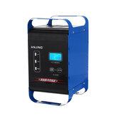 ANJING 12V / 24V 400W Automatik Batterie Ladegerät Impulsimpulsreparatur Nass-Trocken-Blei-Säure Batterien Digital LCD Display für Auto-Motorrad