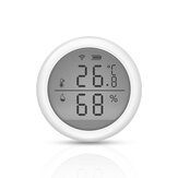 EARYKONG Tuya WIFI Wireless Smart Temperature and Humidity Sensor LCD Screen Thermometer Hygrometer Use With Gateway For Smart Home
