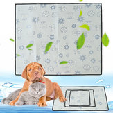 1pcs Pet Cooling Mat Dog Chill Bed Indoor Summer Heat Relief Cushion Gel Pad Seat