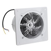 110/220V 40W 2800r/min 6inch Exhaust Fan Wall Mounted Blower Bathroom Kitchen Air Vent Ventilation Extractor