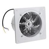 110 / 220V 40W 2800r / min Ventilador de exaustão de 6 polegadas montado na parede Banheiro Extrator de ventilação de ventilação de cozinha