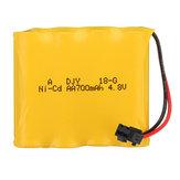 Plugue da manutenção programada de 4.8V 700mAh 4S Ni-Cd Bateria para as peças do carro de 23211 1/20 2.4G Rc