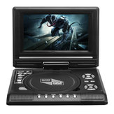 7.8 Inch Portable TV Program Game 270 Degree Rotation Car DVD Player