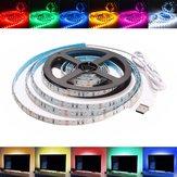 2M Nie wodoodporny USB SMD3528 Tło TV Taśma LED Taśma Elastyczne światło DC5V