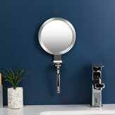 Bathroom Anti-fog Mirror Powerful Sucker Bath Shower Mirrors Man Shaving Mirror With Shaver Holder