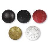 10 '' mini tambour de langue en acier 8 notes instrument de musique de tambour de réservoir de tambour de handpan