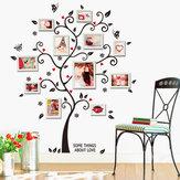 45X60CM Ev Kompozit Fotoğraf Duvar Sticker Mutluluk Ağacı Ev Dekorasyonu