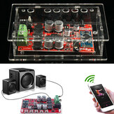 Geekcreit® TDA7492P 25W + 25W draadloze bluetooth 4.0 audio digitale versterker board met case