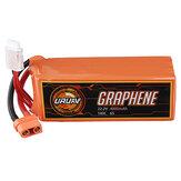 URUAV GRAPHENE 6S 22.2V 4000mAh 95C Lipo Battery XT90 Plug for RC Drone