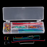 140 pcs U Shape Shield Solderless Breadboard Jumper Kit Kabel Kabel