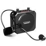 Bakeey M80 Bezdrátový bluetooth FM rádio TF karta AUX-In Sound Box 1800mAh Přenosný hlasový zesilovač s mikrofonem pro K Songs Teaching Meeting