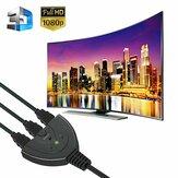 3 Port HDMI Anahtar Adaptörü AV Switcher Seçici Dönüştürücü Splitter Hub Kablosu HDTV 1080P Xbox için