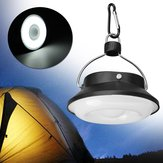 Portabel 5W 300LM 28 LED Solar USB Rechargeable Camping Light Lantern Tent Lamp