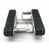 DIY Smart Robot Tank Chassis Car with Crawler Kit for  Uno R3