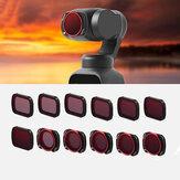 URUAV CB/TB/TR/FB 14 Styles FB MCUV ND4 ND8 ND16 ND32/TR CPL ND8PL ND16PL ND32PL ND64PL/TB ND2-5 Adjustable/TB ND6-9 Adjustable /FB-4IN1/TR-6IN1/TR-3IN1/TR-4IN1 CB STAR/CB Light Damage Filters Lens for DJI POCKET2 / OSMO Gimbal Camera