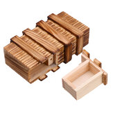 Compartiment Houten puzzeldoos Secret Drawer Brain Teaser Educatieve speelgoedset