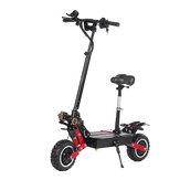 LAOTIE ES18 60V 31.2Ah 2800W * 2 Scooter elétrico dobrável com motor duplo com sela 85Km / h Velocidade máxima 100 km Quilometragem 200kg Rolamento Plug UE