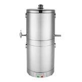 220V 15L rostfreier Alkohol Mehrfachbrenner Ethanol Boiler Home Rostfreier Alkoholbrenner Geschenk