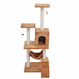 Cat Scratching Post Cat Tree Climbing Scratcher Activity Center Brinquedo Torre de Sisal
