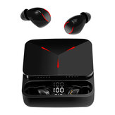 Lenovo TG01 Mini TWS bluetooth 5.0 Gaming Earphone PIXART Chip لمس مراقبة HiFi Bass Headphone with عالي الوضوح Mic القوة Bank