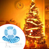 BlitzWolf® BW-LT11 2M / 5M Smart APP Control RGBW LED Kit Light Strip Trabalho com Amazon Alexa Google Assistant Christmas Decorations Clearance Christmas Lights