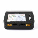 ToolkitRC M6DAC AC 200W DC 700W 15A * 2 USB-C 65W QC3.0 Dwukanałowy inteligentny akumulator Lipo Rozładowarka do akumulatora 1-6S Lipo
