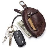 GZCZ Couro Genuíno chave do suporte chave do carro Bolsa