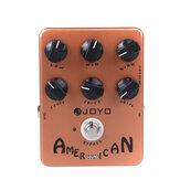JOYO JF-14 Gitar Etkisi Pedalı Amerikan Ses Amp Simulator Alüminyum Alaşım Yüksek Kaliteli Gitar pedalı guitarra Gitar Aksesuarları