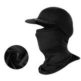 WHEELUP Multifuncional Seda de gelo Proteção solar Protetor de pescoço Face Máscara Chapéu Saliva à prova de vento Anti-Fog Saliva Dustproof Cycling Scar Cap