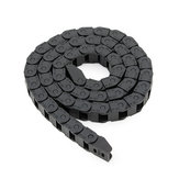 Machifit 10 x 10mm Plastic Cable Drag Chain Wire Carrier Length 1000mm For CNC Router Machine