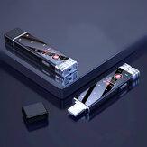 Gravador de voz com tela de toque digital USB Bakeey F23 16GB/32GB Mini ditafone WAV Gravador de áudio Caneta de gravação USB
