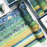 12 unidades / conjunto de fita de cor sólida DIY criativa fita adesiva fita adesiva adesiva adesiva para scrapbooking materiais de papelaria
