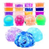 24 PCS Colorful lama de cristal não tóxico lama lama brinquedos pinata lumens ramen solo diy brinquedo ambiental
