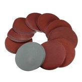 100pcs 4 disques de ponçage pouces 80-3000 grain disque mix ponceuse réglé 100mm patins de ponçage polissage