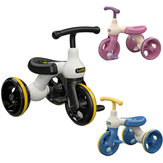 LUDDY 1009S Kids Pedal Best Tricycle for Aged 2-6 Baby Walking Tool Toddler Scooter Bike Walking&Balance Training Boys&Girls Gifts