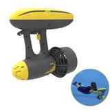 SMACO 2-en-1 600W Hélice eléctrica subacuática Agua Scooter de doble velocidad Hélice de buceo Equipo de deportes acuáticos Soporte Impermeable Cámara