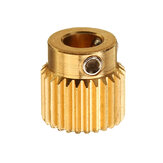 TRONXY® 26 Teeth 5mm Brass Extrusion Wheels Feeding Gear For 3D Printer Part