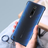 Bakeey Transparent Ultra Thin Anti Fall Matte Hard PC&Soft Edge With Finger Ring Protective Case For Xiaomi Redmi K20 / Redmi K20 PRO / Xiaomi Mi9T Non-original