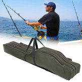 1.2M/1.3M Portable Folding Fishing Rod Bag Fish Pole Tools Storage Bag Holdall Case Carrier Holder