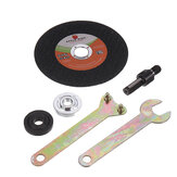 Stainless Steel Cutting Disc with 5pcs Flange Nuts Grinding Accessories for Cutting