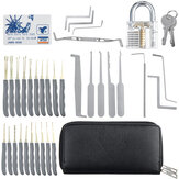 24/33/36Pcs Lock Unlocking Picking Set Transparent Practice Training Lock