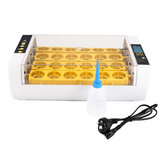 80W 24 Posición Mini Incubadora de Aves de Corral totalmente automática Digital Eggs Poultry Hatcher US / UE Enchufe