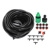 10m Hose Automatic Sprinkler Drippers Micro Irrigation Drip Plant Watering Garden System