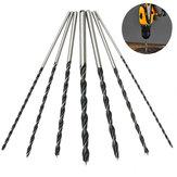7pcs 300mm Extra Long Brad Point Twist Drill Bits Set 12 Inch Wood Working Drill Bit
