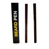 1pc Ανδρικά στυλό αύξησης γενειάδας Μαλλιά προσώπου Sideburn Μουστάκι Επισκευή Σχήμα Regrowth Pen Pen Beard Enhancer Nourish Shaping Anti τριχόπτωση