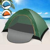 1 à 2 personnes tente de Camping Ventilation respirante coupe-vent pare-soleil pare-soleil auvent abri de plage