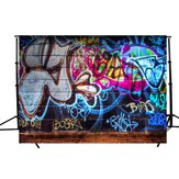 7x5ft Vinilo Graffiti Arte Muro Fotografía Estudio Prop Photo Backdrop