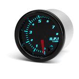 ユニバーサル2インチ52ミリメートルタコメータTach RPMゲージデジタル7色LEDディスプレイカーメーター